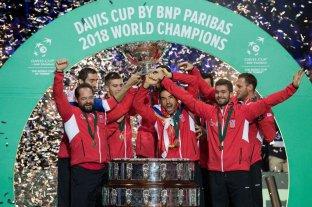 Croacia venció a Francia y se consagró campeón de la Copa Davis