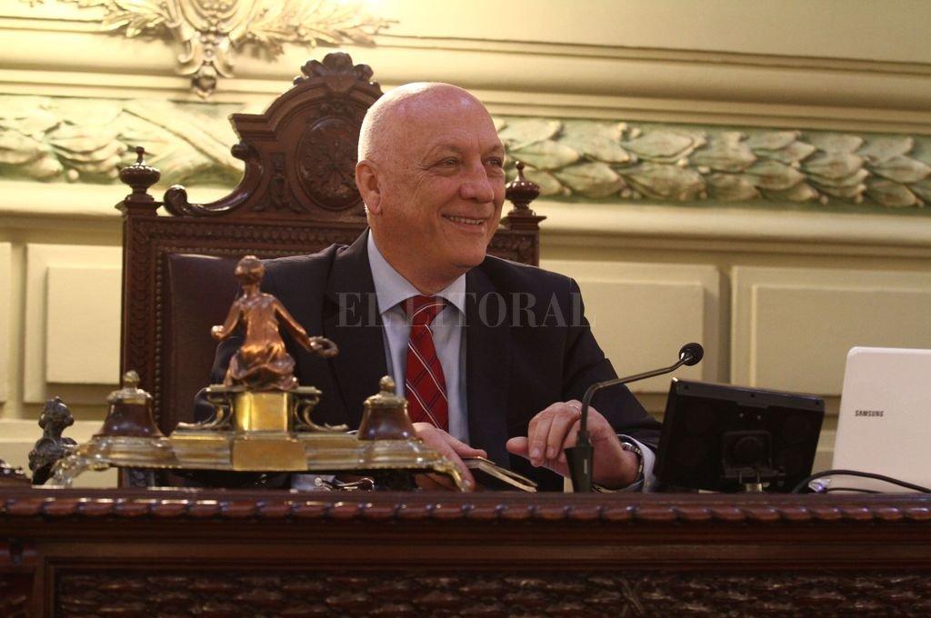 Bonfatti es uno de los impulsores del proyecto de ley de salud. <strong>Foto:</strong> El Litoral