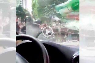 Nuevo video que muestra la agresión al plantel de Boca