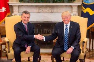 Macri recibe a Trump el viernes en Casa Rosada