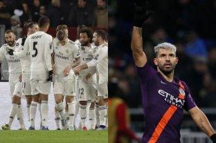 Champions League: triunfo del Real Madrdi y clasificación agónica del Manchester City