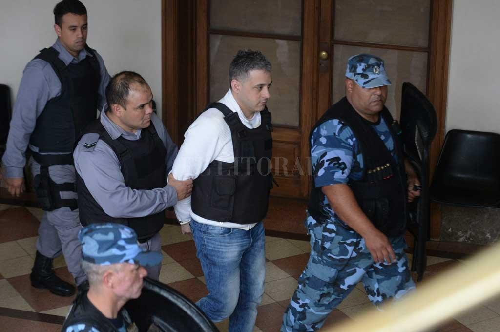 """Víctor Schillaci reconoció que """"estábamos asustados"""" y pidieron que no los dejen con Gendarmería. Crédito: Archivo El Litoral / Télam"""
