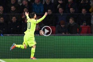 Con gol de Messi, el Barcelona ganó y se aseguró pasar como primero del grupo