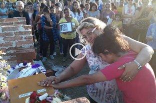 Inhumaron los restos de Rosalía Jara
