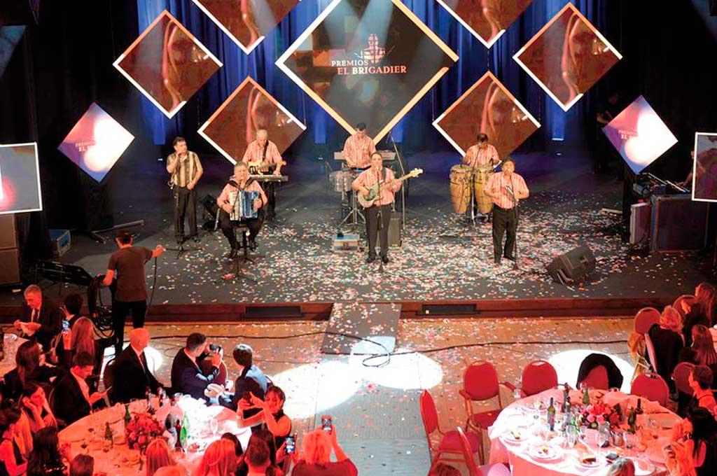 El cierre musical estuvo a cargo de la banda santafesina