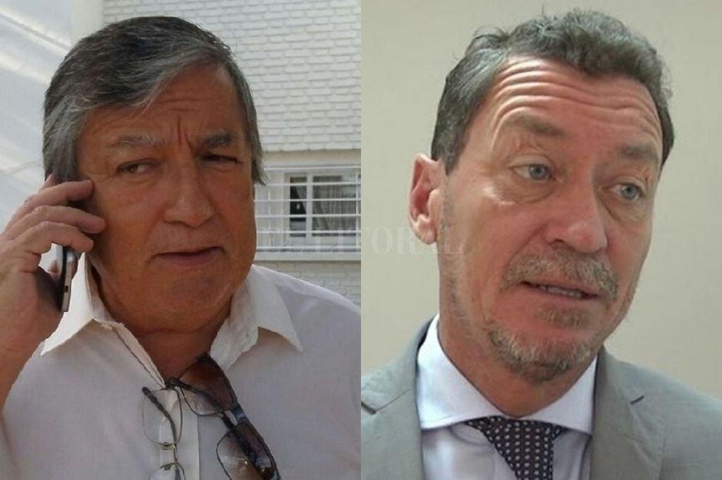 El fiscal regional de la Cuarta Circunscripción, Rubén Martínez y el fiscal adjunto Rodrigo Germán González <strong>Foto:</strong> Archivo