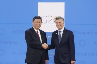 Macri recibe este domingo al presidente de China
