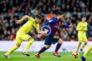 Barcelona le ganó a Villarreal y recuperó la punta