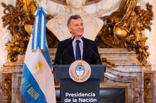 """Macri: """"Nunca el país tuvo una relación con el mundo como ahora"""""""