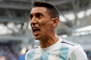 """Di María: """"Hablé con Scaloni y le dije que quería volver a la Selección"""""""