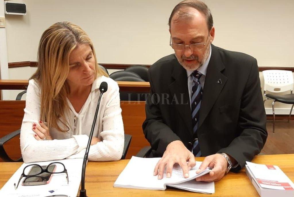 Los fiscales Ana Laura Gioria y Jorge Nessier volverán a pedir la prórroga de la prisión preventiva para Álvarez, cuya defensa reclamó el cese de la detención. <strong>Foto:</strong> Prensa MPA