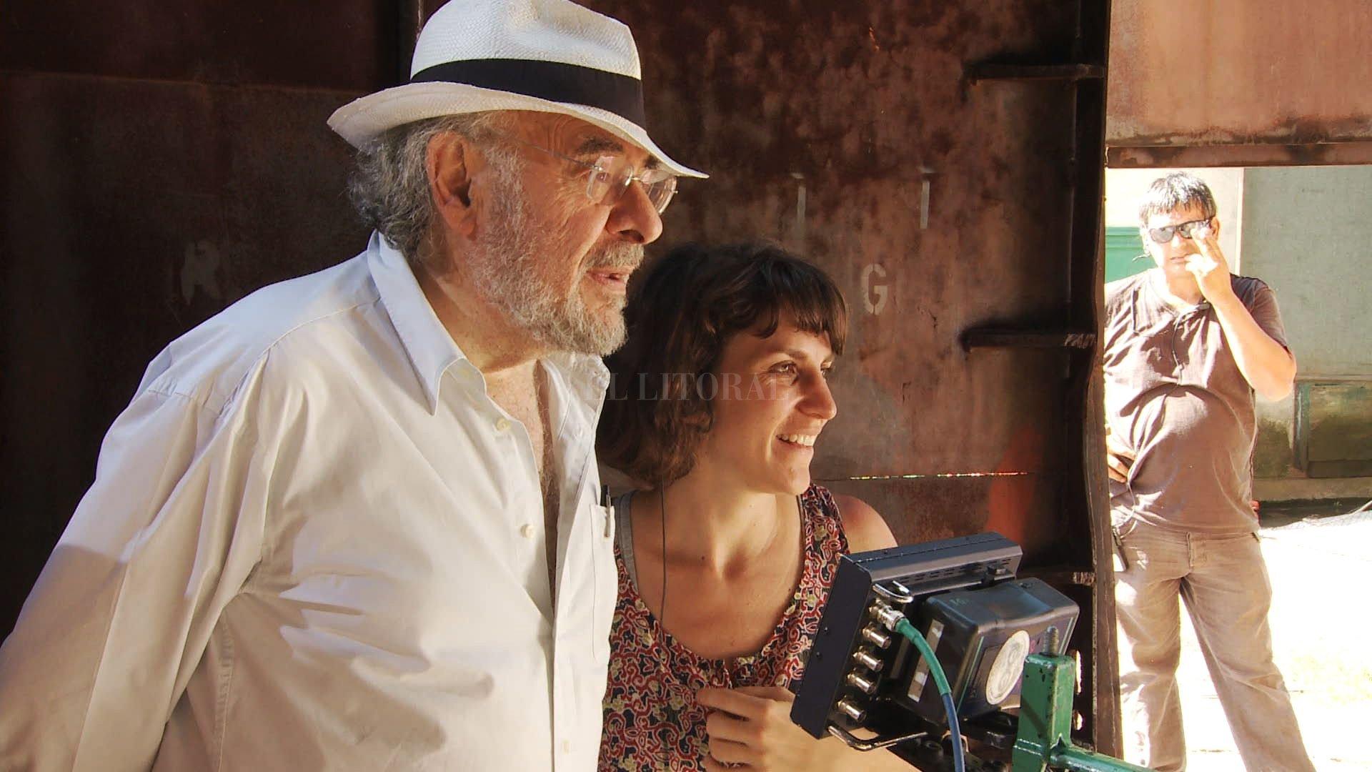 La película atraviesa un año especial, porque en febrero pasado, Hugo Santiago falleció a los 78 años de edad.  <strong>Foto:</strong> Gentileza producción