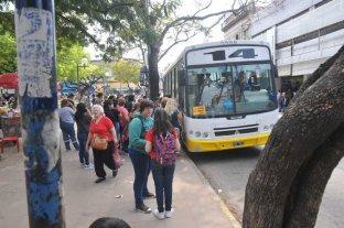 Desvío de colectivos en el centro de la ciudad por trabajos de Assa