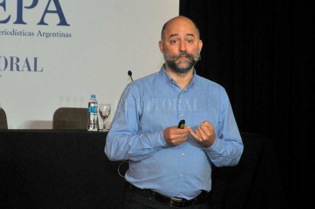 Matias Atwell - Gerente de alianzas con medios de comunicación de Google para Latinoamérica. <strong>Foto:</strong> Luis Cetraro.