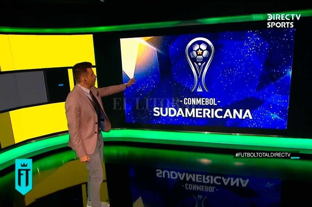 Pablo Giralt, uno de los relatores de la señal deportiva de DirecTV anunció este miércoles que la Copa Sudamericana será televisada por la compañía. <strong>Foto:</strong> Twitter