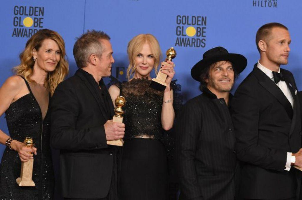 Laura Dern, Nicole Kidman y Zoe Kravitz entre otros celebran los triunfos de la miniserie