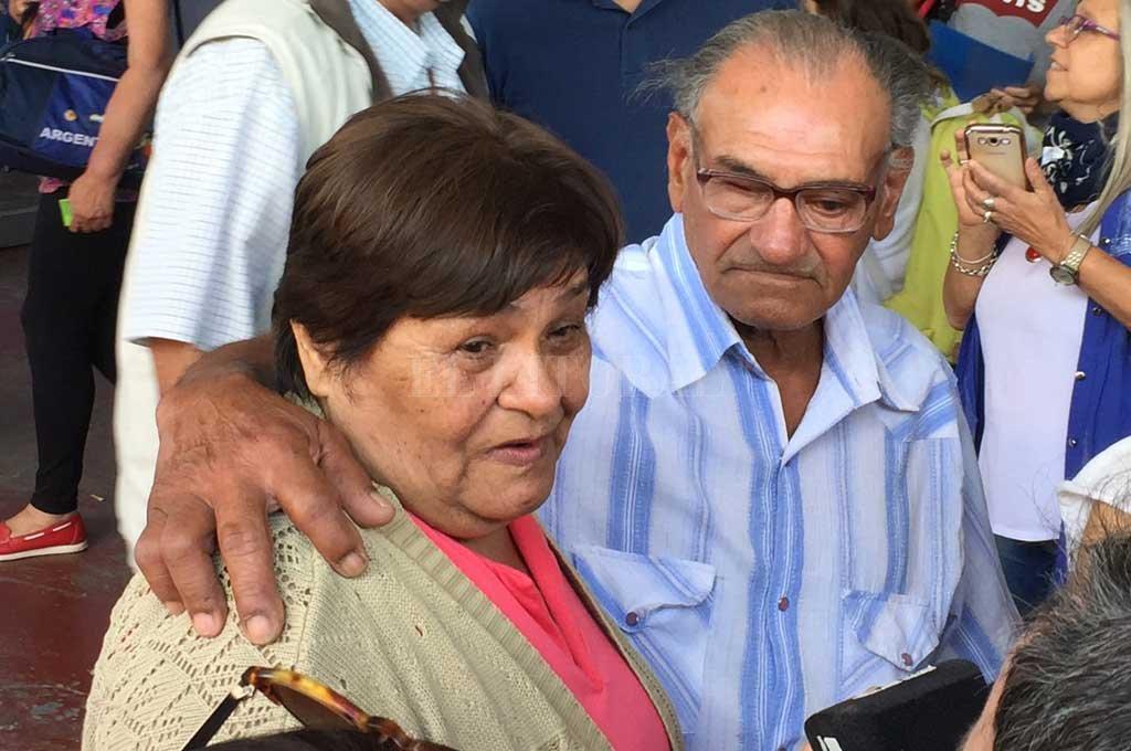 Faustina y Mario, juntos después de 60 años. <strong>Foto:</strong> El Litoral