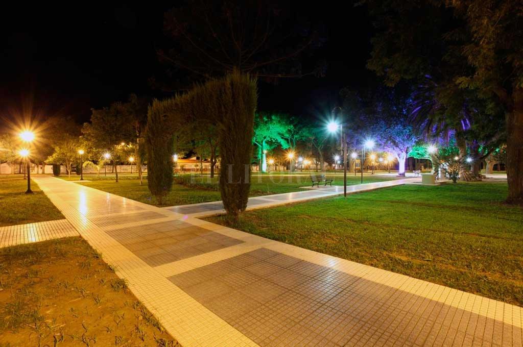 La plaza de Recreo fue escenario de un repudiable hecho <strong>Foto:</strong> Archivo El Litoral