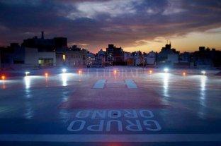Rosario ya cuenta con el primer helipuerto de la provincia de Santa Fe