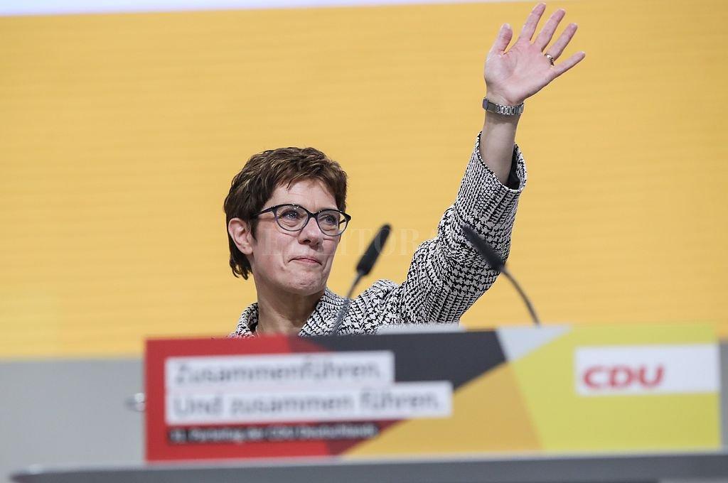 Annegret Kramp-Karrenbauer. <strong>Foto:</strong> Xinhua