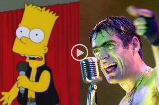 Video viral: La canción Ocho Cuartenta de Rodrigo ilustrada con Los Simpsons
