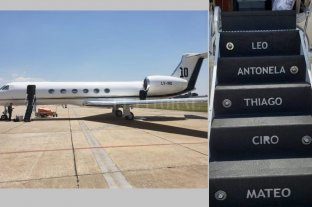 Messi compró un avión de 15 millones de dólares -