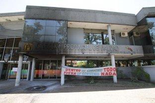 Graves daños al edificio de Vialidad en una protesta -