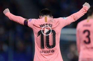Dos joyas de tiro libre de Messi para la goleada del Barsa en el clásico catalán -  -