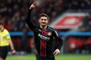 Alario cortó la sequía, volvió al gol y le dio el triunfo a su equipo -  -