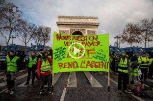 1700 detenidos en Francia tras el cuarto sábado de protesta