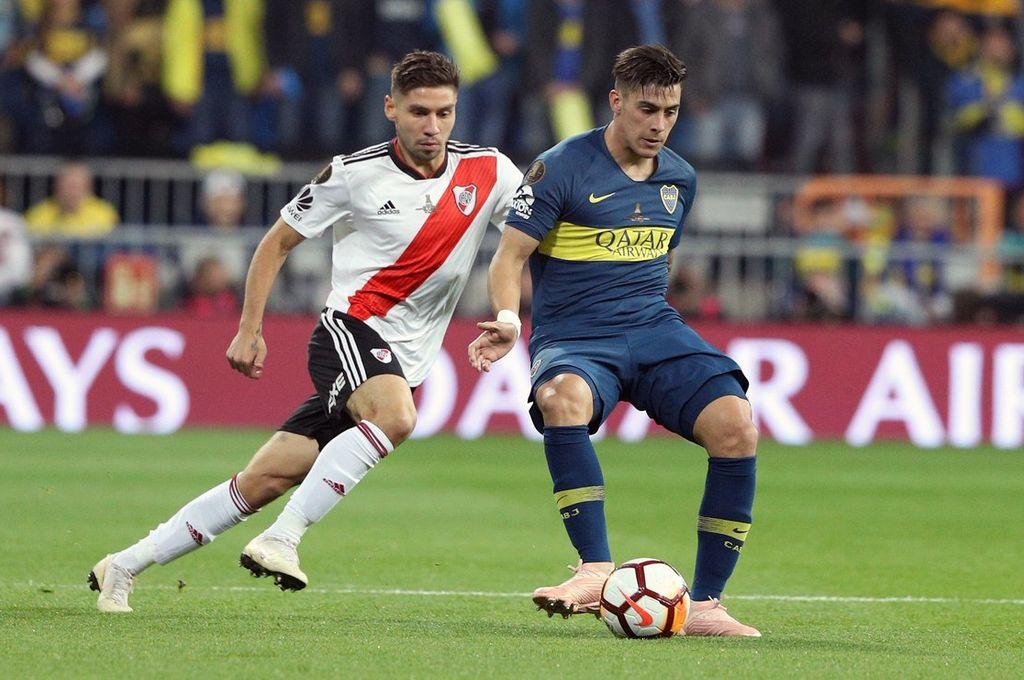 Boca le gana a River en la final de la Copa Libertadores -  -