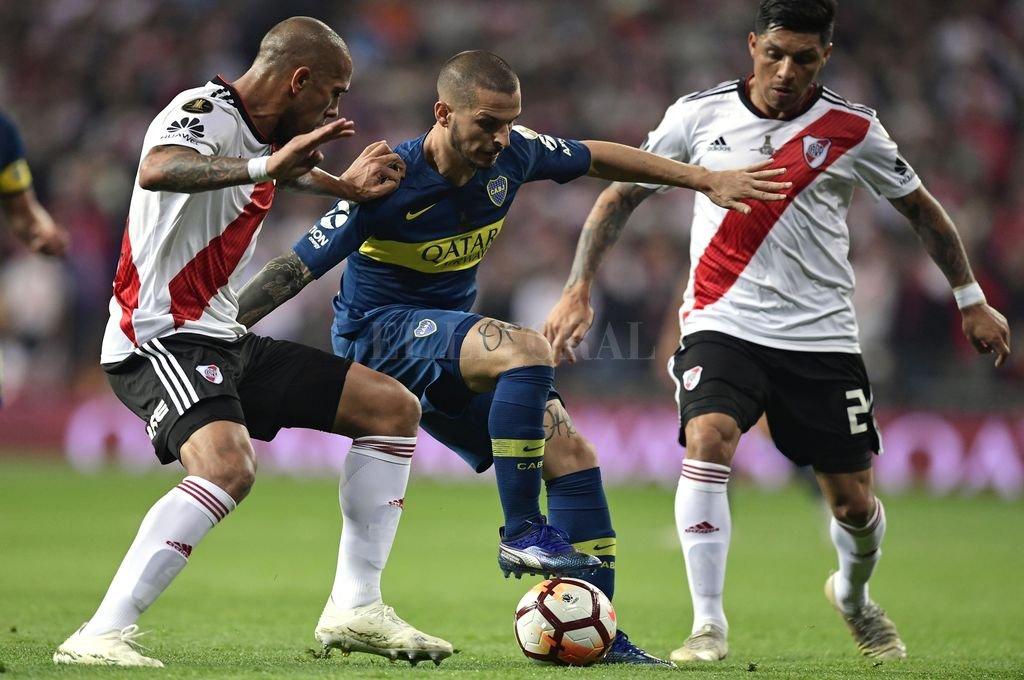 Boca y River empatan en la final de la Copa Libertadores -  -