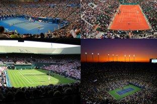 Reglas diferentes en los Grand Slam