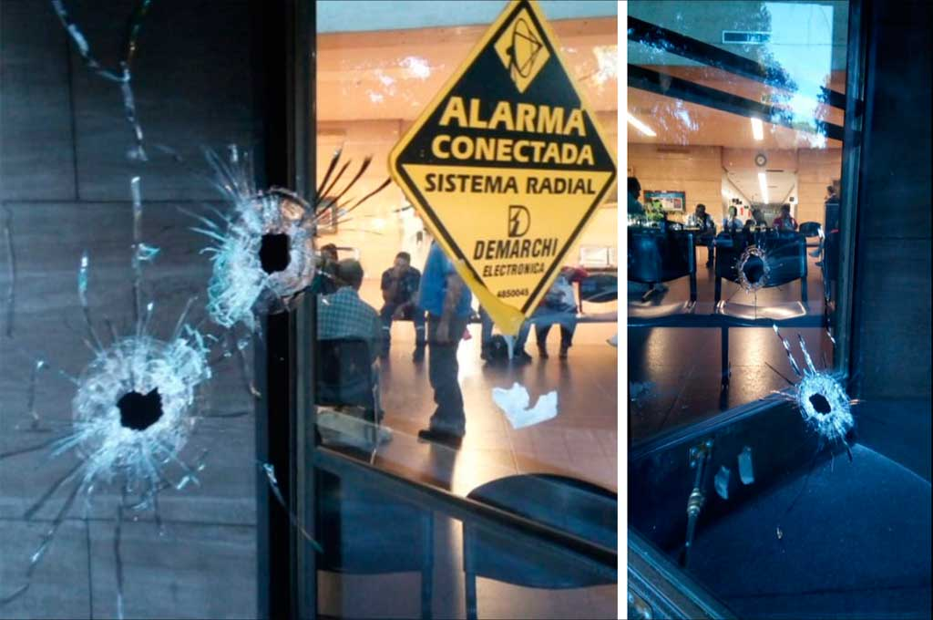 Atacaron a balazos el frente dos sedes judiciales en Rosario