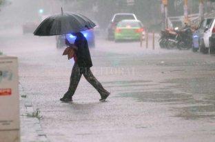 Advertencia del SMN: Lunes y martes podría llover el promedio mensual de diciembre -