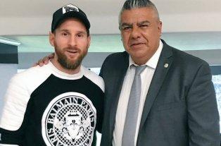 Tapia se reunió con Messi y Scaloni... ¿Vuelve el 10? -  -