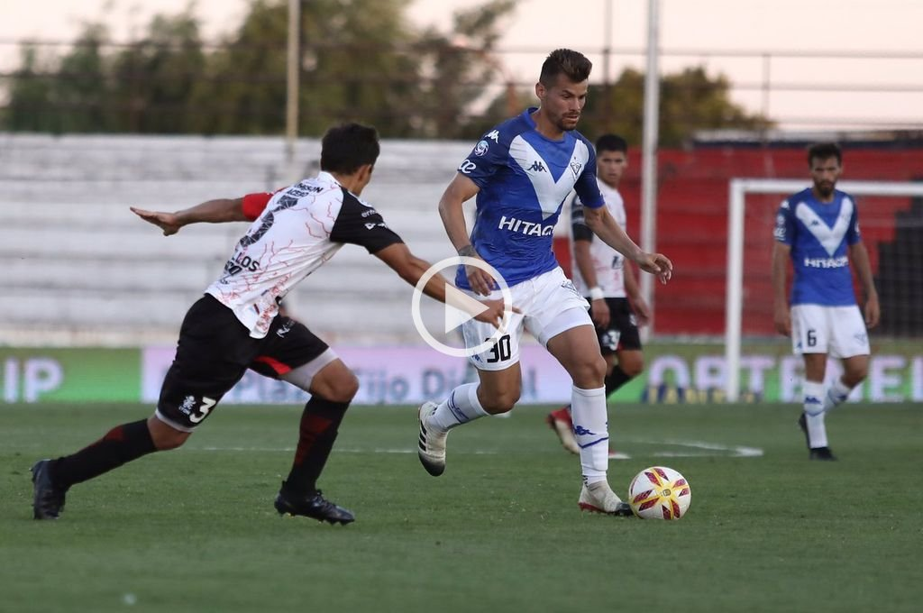 En un partidazo, Patronato y Vélez igualaron 3 a 3 en Paraná