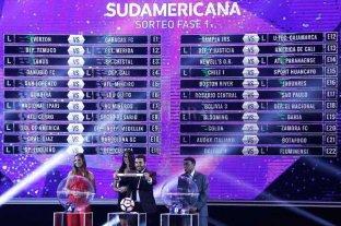Atentos hinchas de Colón y Unión: el lunes se sortea la Copa Sudamericana -  -