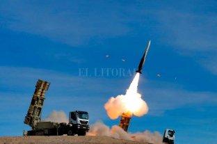 Irán confirmó que realizó una prueba con un misil balístico