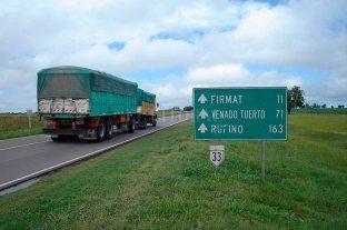 La reconversión de las rutas nacionales aún no registra avances significativos - RUTA 33. Es otro de los corredores nacionales que atraviesan la provincia que siguen sin progreso en sus obras proyectadas. -