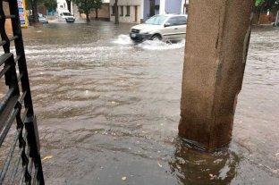Rosario sintió fuerte el temporal -
