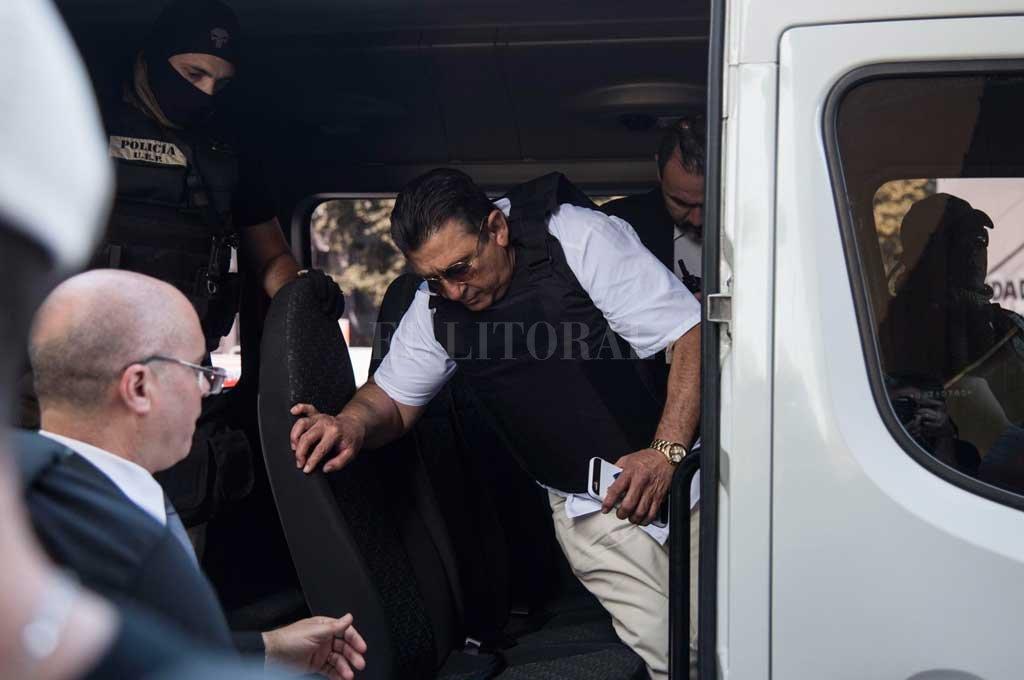 """Luis Alberto Paz fue uno de los testigos que declaró en el juicio a Los Monos y acusó a la banda de haber ordenado el crimen de su hijo, Martín """"Fantasma"""" Paz en 2012. <strong>Foto:</strong> Archivo El Litoral / Marcelo Manera"""