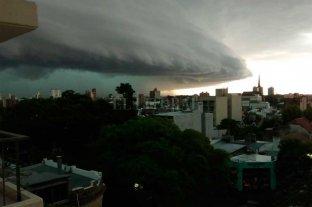 Así avanza la tormenta por Santa Fe -