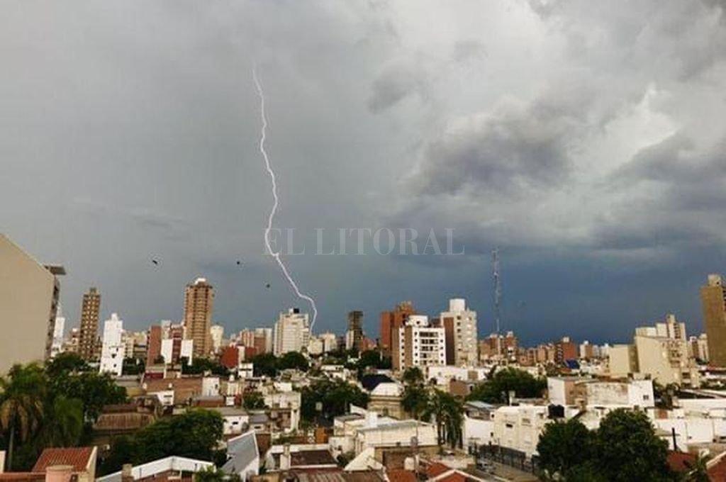Las fotos de la tormenta en la ciudad