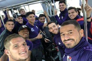 River viajó a Emiratos Árabes Unidos para jugar el Mundial de Clubes