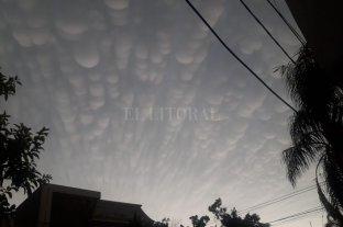 Las extrañas formas de las nubes tras la tormenta  -