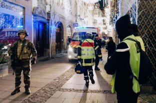 Dos muertos y siete heridos graves tras un tiroteo en un mercado navideño de Estrasburgo -  -