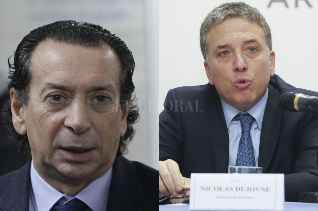 Nicolás Dujovne y Dante Sica. <strong>Foto:</strong> Archivo El Litoral
