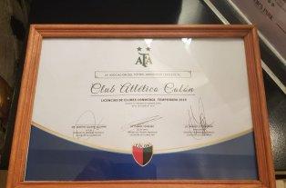 La AFA le envió a Colón la Licencia para la Copa Sudamericana 2019 -  -