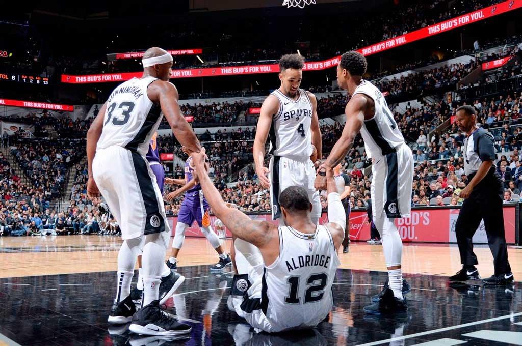 Tercer triunfo consecutivo de los Spurs